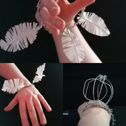 Anita-Forde-Eg-15-Feather-Brackets-Wire-and-Masking-Tape