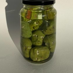 Anthony-O-Connor-2.-Jar-Of-Olives---Clay