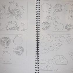 Bunmi-Kolapo--4.Pomegranate-Pattern-Designs.Pencils-