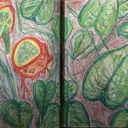 Charles-Imperial-3._Where_Is_Grows,_Oil_Pastels_