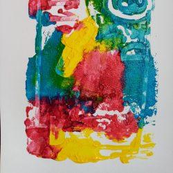 Cody Rumniak Collograph - Acrylic