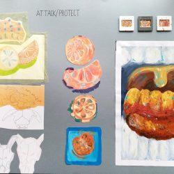 Cody Rumniak Portfolio work sheet Painting