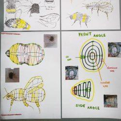 Cody Rumniak bee sculpture project
