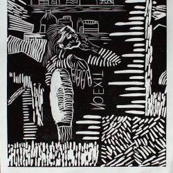 Erin Griffiths No Exit 2 Linoprint