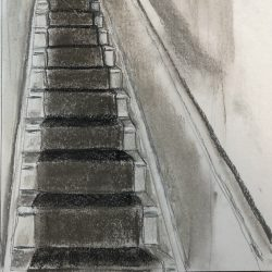 Helen-Ryan-10-Stairs-Study-With-Light-Above---Soft-Pastel