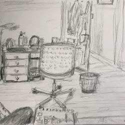 Helen-Ryan-12-Study-Of-Work-Room-From-Sofa---Pencil