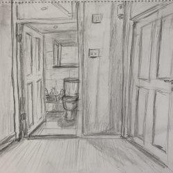 Helen-Ryan-13-Bathroom-From-Top-Of-Stairs---Pencil