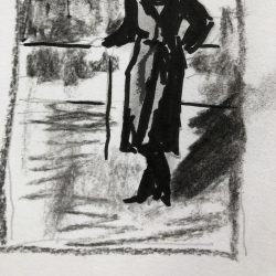 Helen-Ryan--7-Grandmother-From-Old-Photo---Charcoal,-Gel-Pen