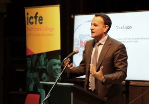 varadkar inchicore college report launch