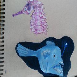 Jem-Fitzpatrick-#8-The-Deep-Sea-Biro+Colored-Pencil-