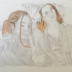 Jessica Dunne Me And Tami Pencil