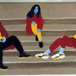 Jessica Dunne Steps Gouache