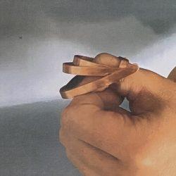 Marzena Dobias Ring - Copper