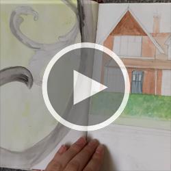 Marzena Dobias Sketchbook Video