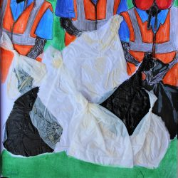 Nodee-Mekhola-4.-_Nature_S-Waste-Collectors_-Plastic-From-Bin-Bags-_-Mixed-Media