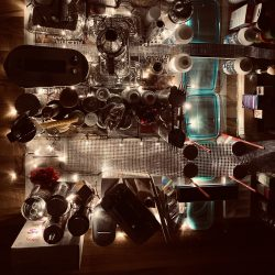 Sabrina-Dunne-14._The_City_At_Night_-_Arranged_Found_Objects_