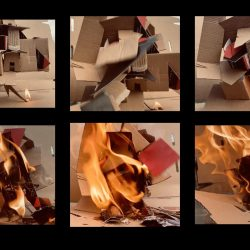 Sabrina-Dunne-4.-Tipping-Point-Of-Fire---Cardboard-And-Fire