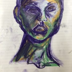 Sofya-Smallwood-6---Face-In-The-Mirror---Pastels-