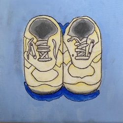 Stephen-Curtis-10._Baby_Shoes._Acrylic