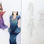 Costume & Fashion Design Art Work
