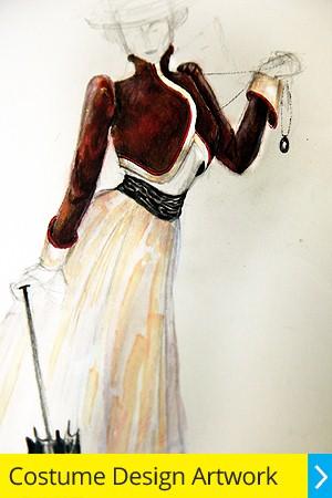 Costume Design Artwork