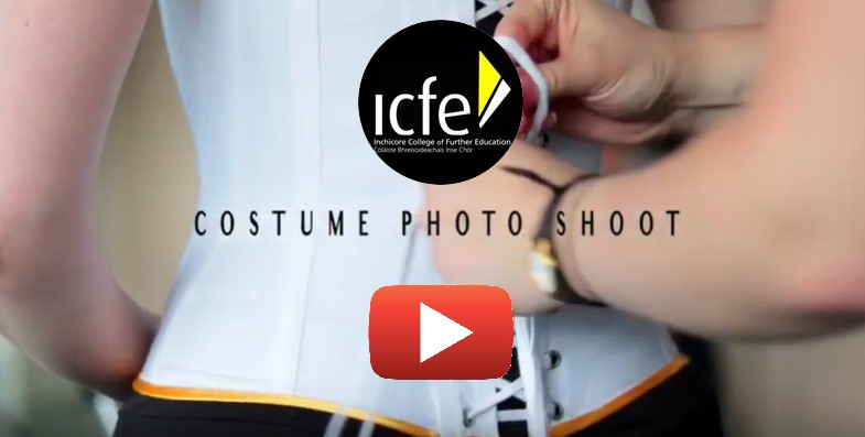 ICFE Youtube Costume photo shoot