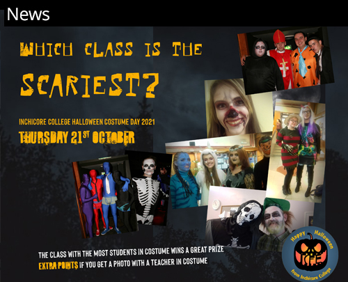 news halloween competition